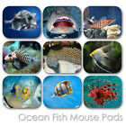 OCEAN EXOTIC FISH CUSTOM MOUSE PAD PERSONALIZED PHOTO FAMILY MOUSEPAD  (FM-01)