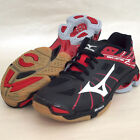 Mizuno Japan Men's WAVE LIGHTNING Z Volleyball Shoes V1GA1500 Black Red Lo Cut