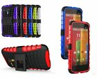 Shock Proof Heavy Duty Builders Case with Stand FOR S4 5 A3 NOKIA 550/435 MOTO G
