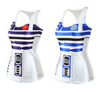 Star Wars Artoo Artoo Tank Top Vest Blouse Gothic Punk Party Sleeveless Costume