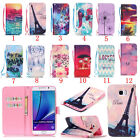 Lanyard Magnetic Flip Stand Slot Leather wallet+TPU Case Cover For Samsung Galax