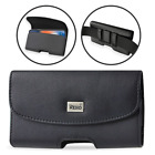 Reiko Leather Belt Clip Case for Phones COMPATIBLE WITH Otterbox Defender Cover