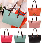 Hot Casual Women Lady Embossed Shoulder Bag Lady Tote Handbag Purse Faux Leather