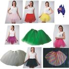 New Adults Teens Girl Tutu Ballet Skirt Tulle Costume Fairy Party Dancewear