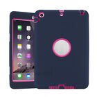 For iPad 2 3 4 &mini 1 2 3 Shockproof Armor Military Heavy Duty Case Cover kids
