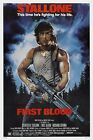 FIRST BLOOD Movie Poster (1982) Rambo
