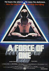 a force of one movie - A FORCE OF ONE Movie POSTER Rare Kung-Fu