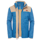 The North Face M EVOLVE II TRI Veste Homme Bleu Brun HyVent