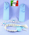Frozen - Vestiti Carnevale Elsa Set Accessori - Dress up Elsa Costumes 457001
