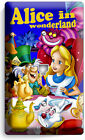 ALICE IN WONDERLAND LIGHT SWITCH WALL PLATE OUTLET KIDS BEDROOM PLAY ROOM DECOR