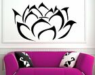 Modern Lotus Blossom Flower Wall Stickers Decal BESTSELLER DECOR High Quality UK