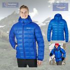 Berghaus Men's Popena Hooded Hydrodown Fusion Jacket - Blue - Authorised Dealer