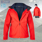 Berghaus Men's Fastrack 3 in 1 Waterproof Jacket - Red - Authorised Dealer