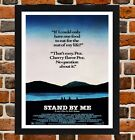 Framed Stand By Me Movie Film Poster A4 / A3 Size In Black / White Frame
