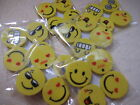 SMILEY Face Erasers  Party Bag Fillers/Pinata/Rewards Pick your amount