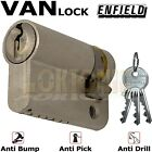 Enfield Half Euro High Security Cylinder Anti Drill Bump Locks For Vans Barrel