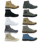 Palladium Mens Shoes Pampa Hi Canvas New Walking High Top Lace Up Ankle Boots