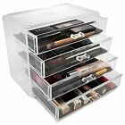 Sorbus Makeup and Jewelry Storage Case Display- 4 Large Drawers