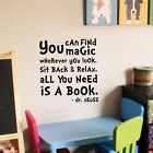 Dr Seuss Quote - Wall Decal Vinyl Sticker Kidsroom Decor Playroom Classroom Art