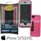 OtterBox Preserver Apple iPhone 5 & 5S & SE Waterproof Case Cover Primrose Pink