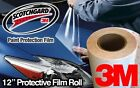 "12"" Gloss 3M Clear Protective Vinyl Vehicle Wrap Film"