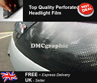 Perforated Car Window Fly Eye Headlight Vinyl Wrap Film Spi Vision Mesh Tint PVC