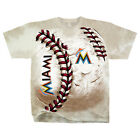 Official MLB Miami Marlins Unique Hardball Tie-dye T-shirt Men's FREE SHIPPING on Ebay
