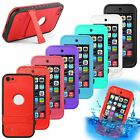 WATERPROOF SHOCKPROOF CASE FOR IPOD TOUCH 5 / 6 [FITS LIFEPROOF& OTTERBOX CLIP]