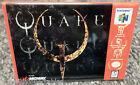 "Quake N64 Vintage Game Box  2""x3"" Fridge Locker MAGNET Nintendo"