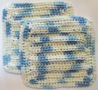 HANDCRAFTED CROCHETED KITCHEN DISH CLOTHS,  COLORFUL & ATTRACTIVE - NICE!!