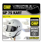 SC777K OMP GP 7SK GRAND PRIX 7S K KARTING KART HELMET OPTIONAL VISORS & PARTS