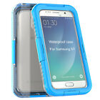Waterproof Silicone Phone Case Cover for Samsung Galaxy S7 Diving Skiing
