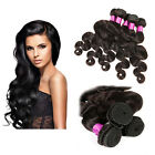 Hot Sale 3 bundles/300g Brazilian Virgin Body Wave Hair Human Extension Weft 6A