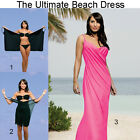 Saress PINK PASSION Maxi Beachdress Coverup Swimwear Bikini Wrap Sarong Dress