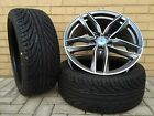 "4 x 19"" NEW ALLOY WHEELS & TYRES RS6 STYLE AUDI A3 A4 A6 TT BLACK EDITION ROTOR"