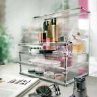 Acrylic DIY Cosmetic Organizer Lid Drawers Storage For Skin Care Lipstick Makeup