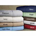 Comforter Microfiber Hypoallergenic Soft Double Stitched Down