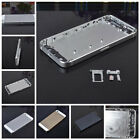 Alloy Metal Replacement Battery Housing Back Cover Case For iphone 5/5C/5S +Tool