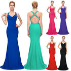 Womens Formal Prom Evening Cocktail Party Bridesmaid Maxi Dress Plus Size 6 - 20