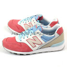 New Balance WR996HI D Pink & Blue & White Classic Retro Lifestyle Sneakers NB