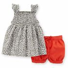 Carters 3 6 9 12 18 Months Top & Bubble Shorts Set Baby Girl Clothes Outfit