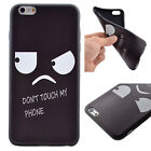 Cute Painted Ultra-Thin Rubber Soft TPU Back Case Cover For iPhone 5s 6 6s Plus
