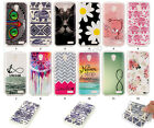 Fashion Hybrid Printed TPU Soft Silicone Gel Rubber Back Cover Case For Phone