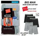 Kyпить Hanes Big Man's Boxer Briefs with Comfort Flex Waistband 2X, 3X & 4X (4-Pack) на еВаy.соm