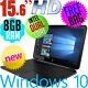 "Watchers: 1234New HP 15.6"" Windows 10 Laptop 8GB 500GB DVD±RW Bluetooth Latest Intel N3060"
