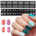 24 New Design DIY Nail Art Image Stamp Stamping Plates Manicure Template AU