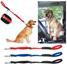 Multi-function Dog Leads Safety Car Seat Belt Pet Walking Leash for Dogs Travel