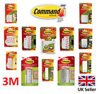 3M Command Decorating Hook Picture Hanging Strips Damage Free Small Medium Large