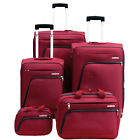 "American Tourister Glider 5 Piece Spinner Luggage Set (28"", 24"", 20"" & More)"