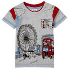 "Jungen Designer T-Shirt ""London"" Gr.86/ 92/98/104/110/116 -Top!"